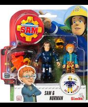 Tuletõrjuja Sam tegelased, topeltpakend