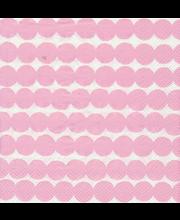 Salvrätik 25cm Räsymatto 20 tk,  roosa