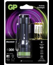 Gp Taskulamp 300Lm Must