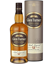 Glen Turner 12 YO Single Malt 700 ml, karbis