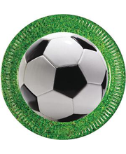 Papptaldrik Football party  23 cm 8 tk