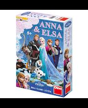 Lauamäng Frozen Anna ja Elsa