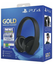 Kõrvaklapid PS4 Gold Wireless