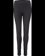 Naiste pikad aluspüksid, must S
