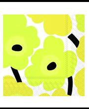 Salvrätik 20tk 25cm yellow