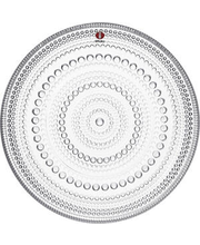 Taldrik Kastehelmi 17 cm, klaas