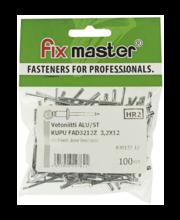 Fixmaster neet, 3,2 x 12 mm, 100 tk