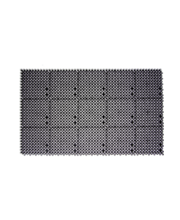 Uksematt Plast-Turf 43 x 71 x 2 cm, must