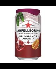 Sanpellegrino Melograno & Arancia limonaad 330ml