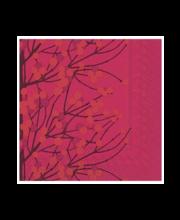 Salvrätikud 33 cm, 20tk Lumemarja Punane