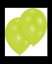Laimirohelised õhupallid, 10 tk