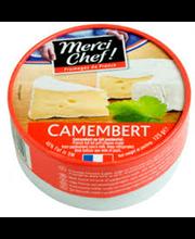 Camembert valgehallitusjuust, 125 g