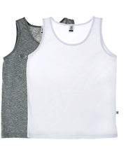 Tüdrukute alussärk 2 tk 160 cm, hall/valge