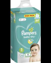 Pampers Baby Dry 5, 11-16kg, 112 tk