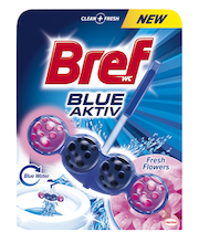 Bref Blue Aktiv Fresh Flowers WC-värskendaja 50 g