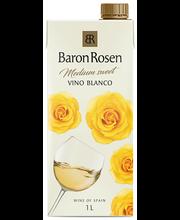 Baron Rosen Vino Blanco Medium-Sweet 1L