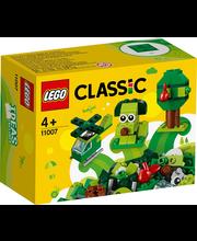 11007 Classic Rohelised loovmänguklotsid