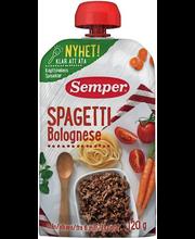 Semper spagetid hakklihaga 120 g, alates 6-elukuust