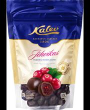 Kalev jõhvikas tumedas šokolaadis 140 g