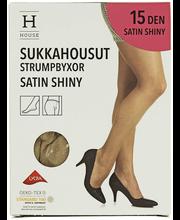 Naiste sukkpüksid Satin Shiny 15 den camel, 44-48