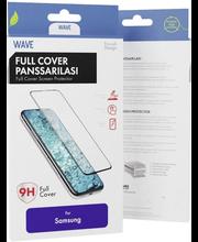 Wave'i soomusklaas telefonile Samsung Galaxy A40, must raam