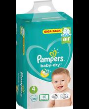 Pampers teipmähkmed Baby Dry 4, 9-14kg, 132 tk