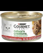 Purina Gourmet Nature's Creations täissööt kassidele rohke ve...