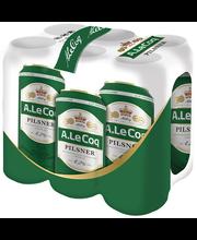 A.Le Coq Pilsner õlu 4,2% 6-pakk 3L
