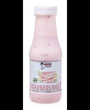 Punase rabarberi jogurt, 300 ml