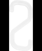 Riputuskonks Swing 17 cm, valge plast