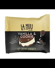 La Muu Sandwich Vanillijäätis kakaoküpsistega