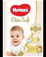 Huggies mähkmed Elite Soft 3, 5-9kg, 80 tk
