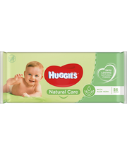 Huggies Natural Care niisked salvrätikud 56 tk