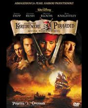 Dvd Kariibi mere piraadid 1