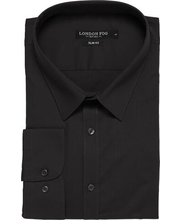 Meeste triiksärk must XL slim