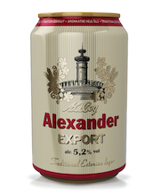 ALEXANDER EXPORT 5,2% 330 ML ÕLU
