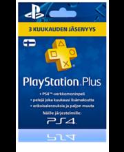 Playstation Plus liikmekaart 3 kuud