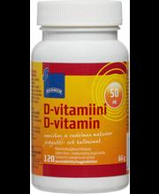 Rainbow, 50 µg D-vitamiinitabletid, 120 tk