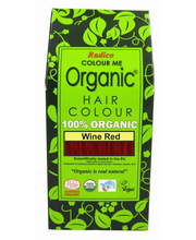 Juuksevärv Colour Me Organic Wine red 100g