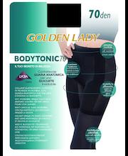 Naiste paksud sukkpüksid Bodytonic 70 den  S, must