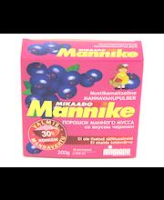 Mannavahupulber Mannike mustika 200 g