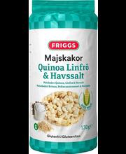 Maisigaletid kinoa, linaseemnete ja meresoolaga, 130 g