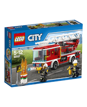Lego City Tuletõrje redelauto 60107