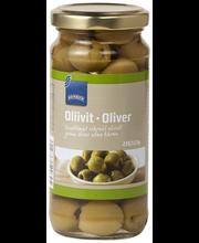 Rohelised oliivid kivideta 235/113 g