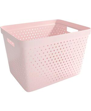 Säilituskorv Star 19 l, roosa