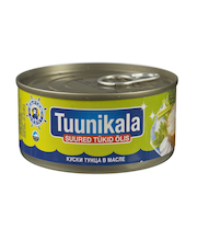 Tuunikala suured tükid õlis 185 g