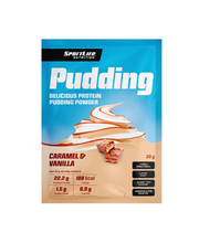 Sportlife vanilje-karamelli puding, 30 g