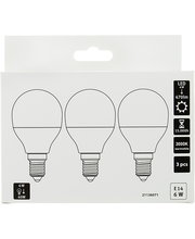 LED-lamp 6W E14, CMI 3000K 470LM, 3 tk