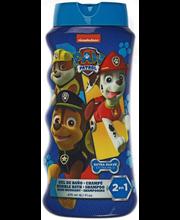 Dushigeel-shampoon Paw Patrol lastele 475 ml