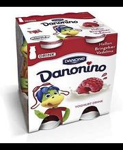 Danonino jogurtijook 4 x 100 g, vaarika